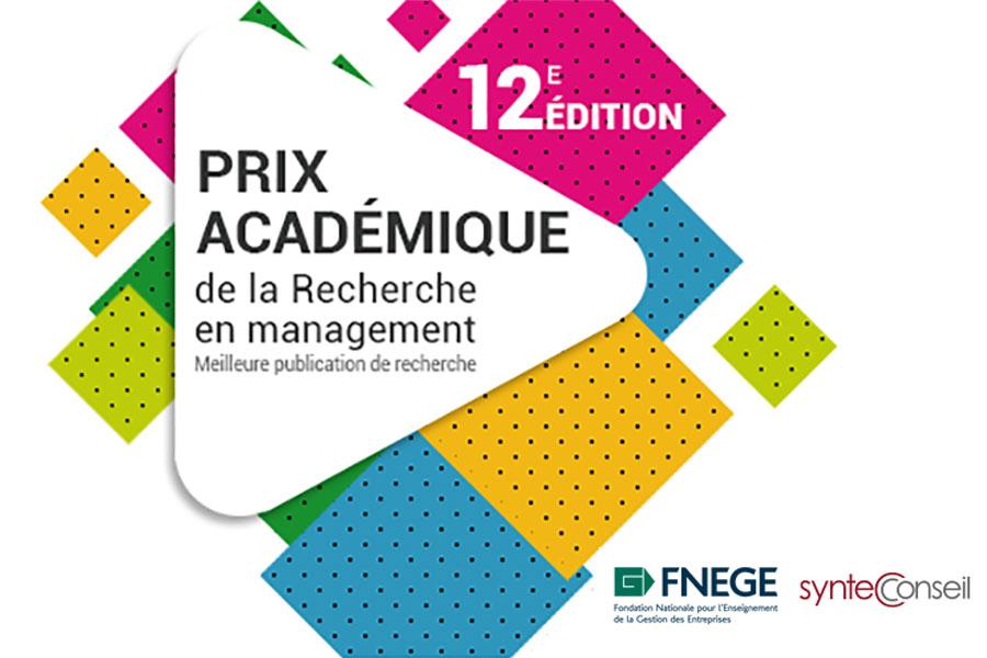 Prix Syntec Conseil - FNEGE 2021