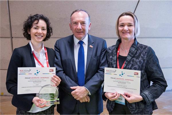 Grand Prix AEF Universités-Entreprises 2014
