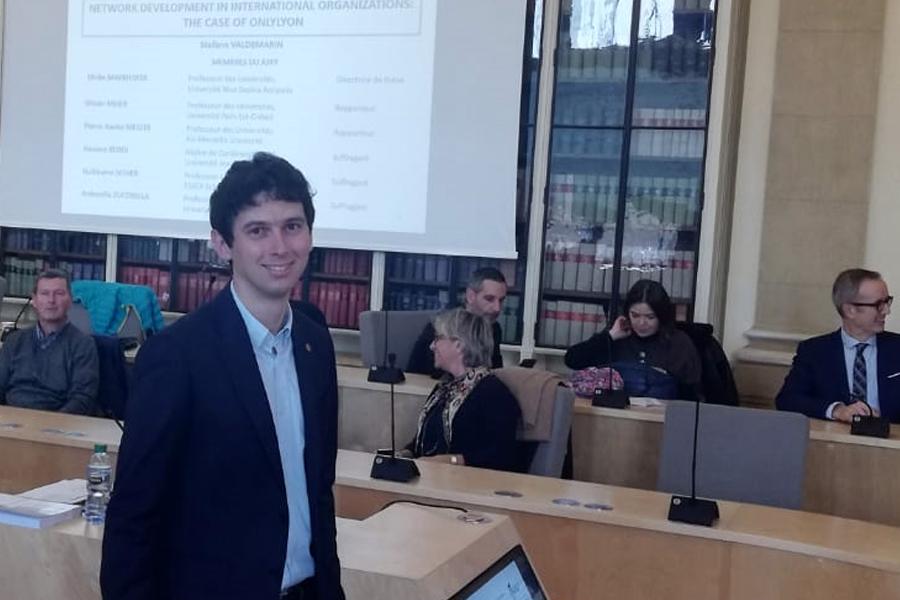 Prix de thèse Atlas-AFMI 2020 décerné à Stefano Valdemarin
