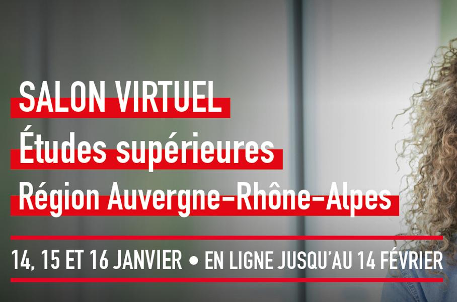 Salon Etudiant virtuel 2021 - LYON