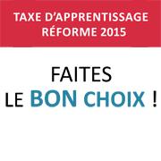 Taxe apprentissage 2015