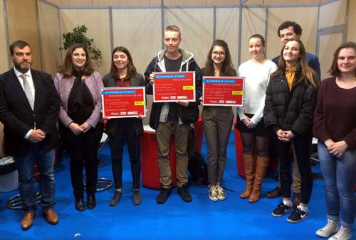 Trophées L'Etudiant Lyon 2018