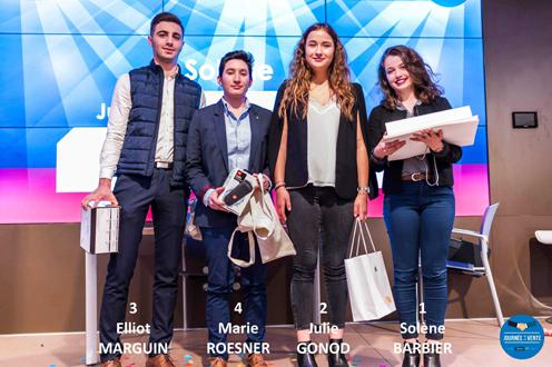 Gagnants Challenge Négociation iaelyon 2019
