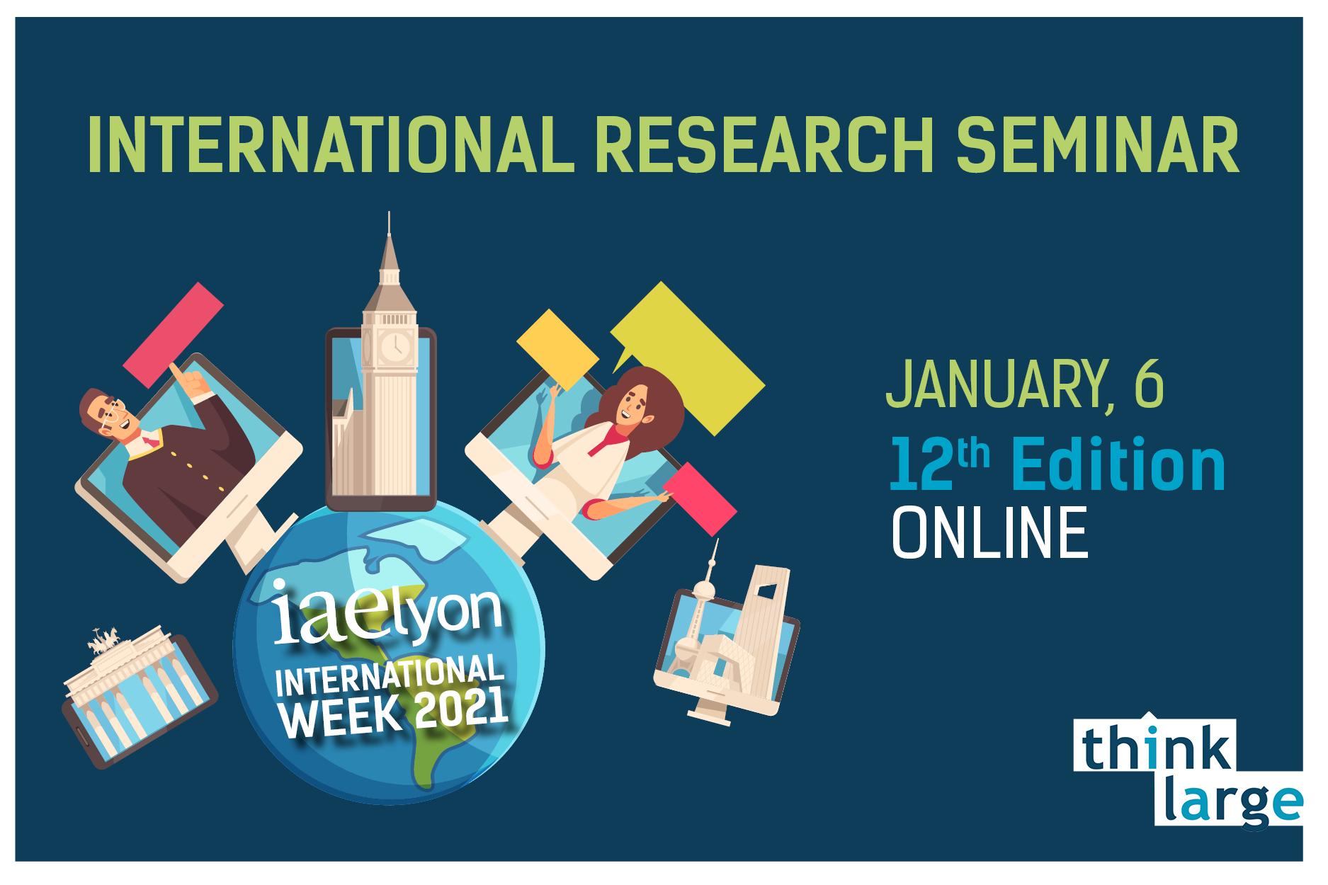 iaelyon International Research Seminar 2021