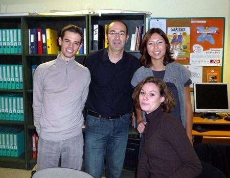 Etudiants du Master RH à la Mission Locale de Bron